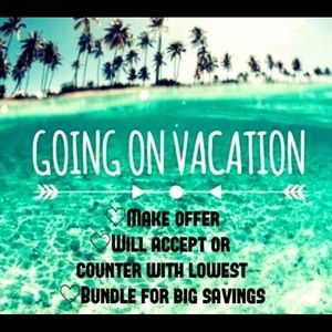 2 DAYS till vacation!! Make an offer today!!